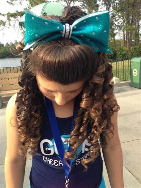 Beautiful Cheer Hair Cheer Curls Curls Hairstyle