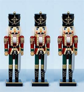 Casse Noisette Deco Noel : 38cm xmas christmas traditional style nutcracker wooden ~ Premium-room.com Idées de Décoration