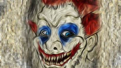 Clown Scary Wallpapers Backgrounds Face Resolution Artist