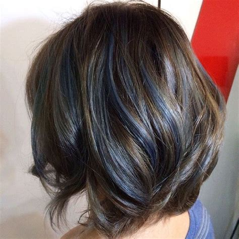 Best 25 Blue Hair Streaks Ideas On Pinterest Blue