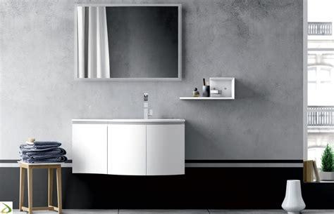 Mobile Di Bagno Bagno Sospeso Curvo Altea Arredo Design