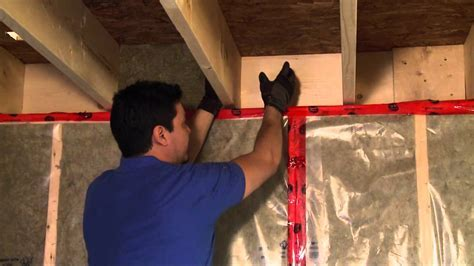How to Insulate a Basement Header   YouTube