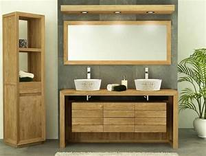 Meuble Tiroir Salle De Bain : achat meuble de salle de bain groix 160 2 tiroirs walk ~ Edinachiropracticcenter.com Idées de Décoration