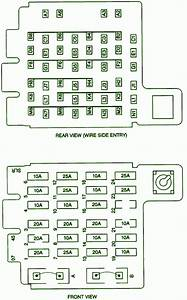 1998 Chevrolet Tahoe Front Fuse Box Diagram