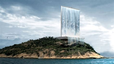 Solar City Tower With 'urban Waterfall' Proposed For 2016