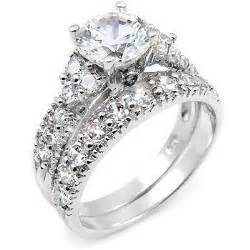 big engagement rings silver wedding rings with big ipunya
