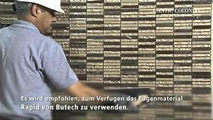 Mosaik Fliesen Verfugen : verlegung von mosaiken youtube ~ A.2002-acura-tl-radio.info Haus und Dekorationen