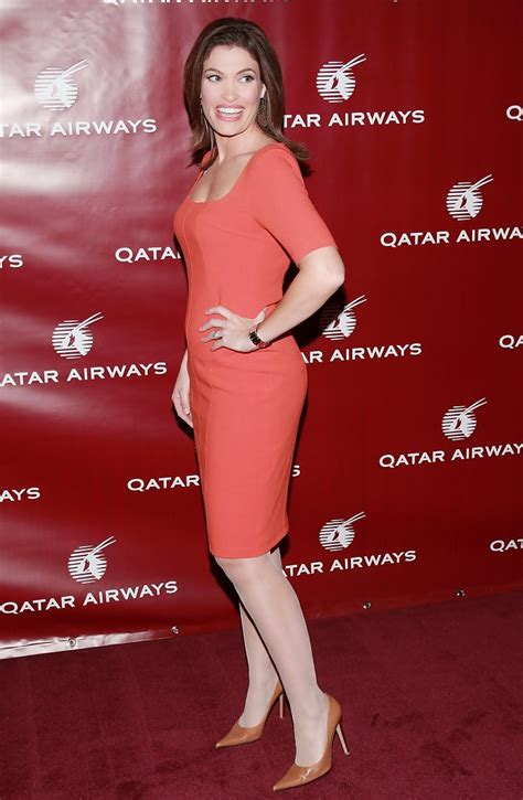 guilfoyle kimberly dress qatar airways inaugural gala celebrate zimbio stylebistro dresses hosts flights nyc clothes frederick