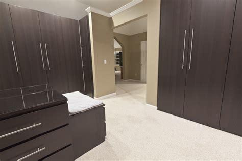 modern open concept master modern closet bridgeport