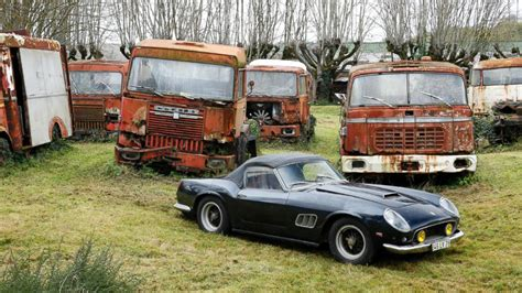Rare Cars Discovered In French Barn To Be Auctioned Photos