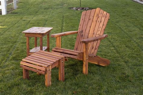 amish outdoor adirondack lounge chair