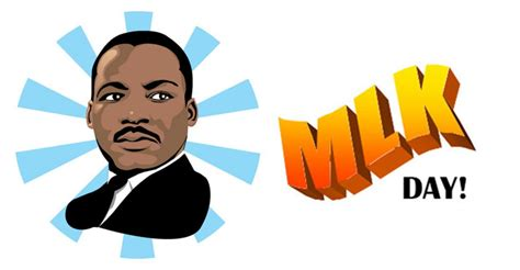 Martin Luther King Clipart Martin Luther King Day C Elite Gymnastics Academy