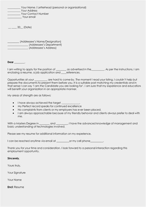 write  cover letter  resume grab attention
