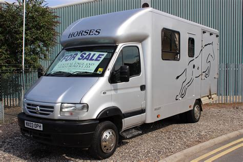 For Sale by 6 5t Horsebox For Sale By Select Used Horseboxes Midlands