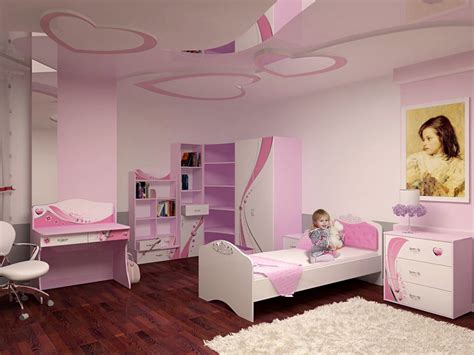 dar wa decor chambre fille exquisite pink bedroom and stunning wall design home design