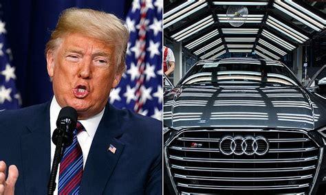 Donald Trump 'threatens To Push German Luxury Cars Out Of