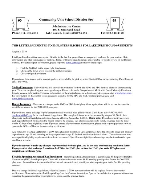 sample open enrollment letter icebergcoworking