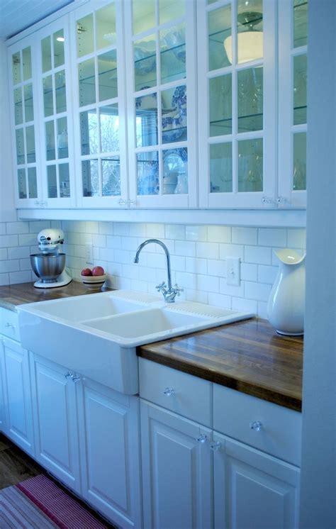 sallys sweet galley kitchen ikea lindingo cabinets ikea double farmhouse kitchen kitsch