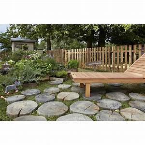 Leroy Merlin Pas Japonais : pas japonais pierre reconstitu e imitation bois stonewood ~ Dailycaller-alerts.com Idées de Décoration