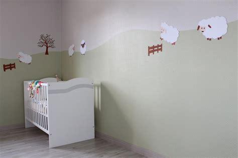cevelle com peinture mur inspiration chambre bebe