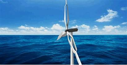 Wind Turbines Generation Innovative Biplane Ocean