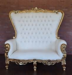 chair rentals for wedding royal throne loveseat gold white
