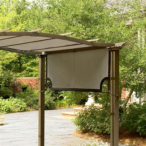 Patio Furniture Covers At Walmart by Garden Oasis Crest Pergola Replacement Canopy Garden Winds