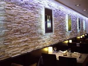 Verblendsteine Innen Gips : die besten 25 steinwand wohnzimmer ideen auf pinterest steinwand innen tv wand beleuchtung ~ Michelbontemps.com Haus und Dekorationen