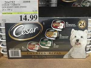 west costco sales items nov 30 dec 6 costco west fan blog With cesar dog food costco