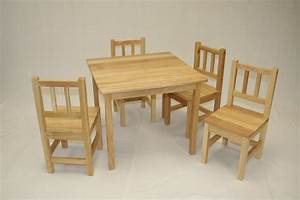 wood-toddler-table-and-chair-set : Toddler Table and Chair