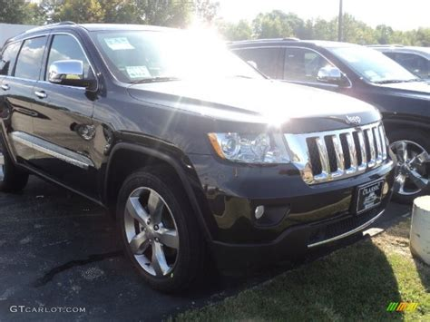 2012 brilliant black pearl jeep grand overland 4x4 54964031 gtcarlot