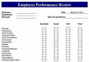 Free Employee Evaluation Forms Printable