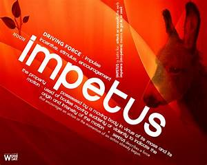 Impetus: driving force | iwork3 | alex chong