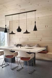 nice salle a manger banquette repas salle a manger With lustre de salle a manger pour petite cuisine Équipée