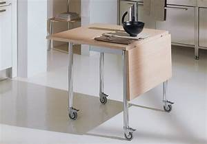 toutes nos astuces deco pour amenager une petite cuisine With table pour petite cuisine