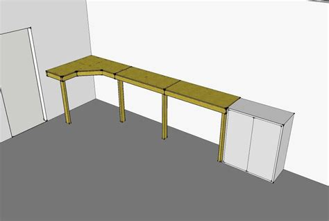build plans garage workbench plans ideas wooden making