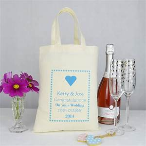 personalised 39wedding39 gift bag by andrea fays With gift bags for weddings