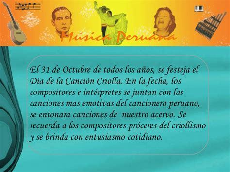 Dia Compositor Resumen by Musica Criolla