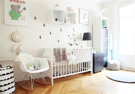 deco scandinave chambre bebe fille