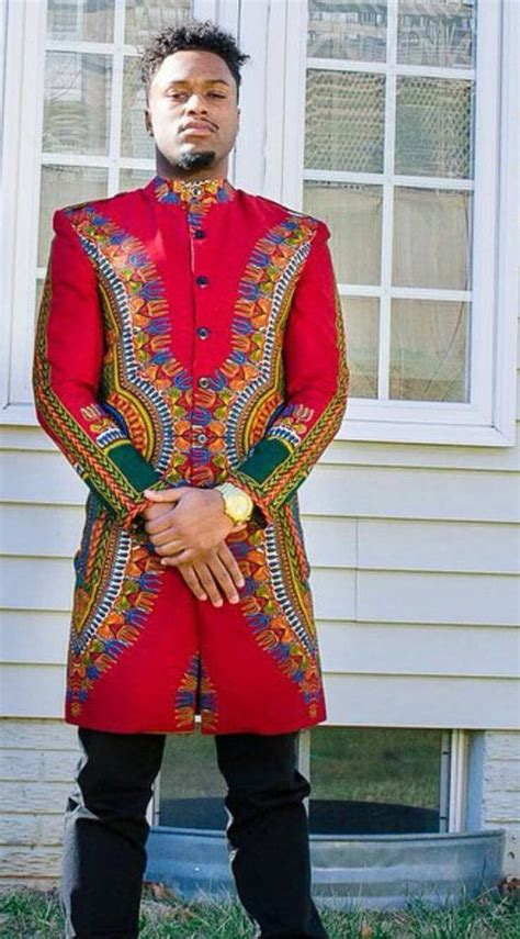 Ankara Jacket African Gents Style African Men Fashion