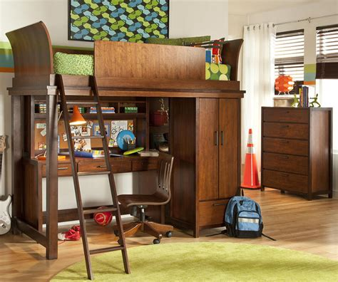 loft bed with desk and storage best size loft bed with desk and dresser designed for