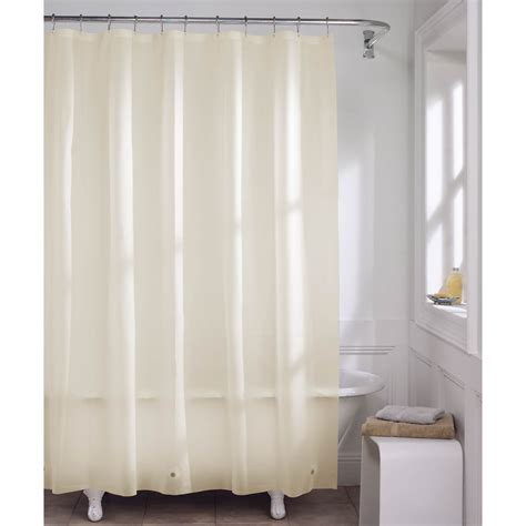 maytex magnetic shower curtain liner shower curtains