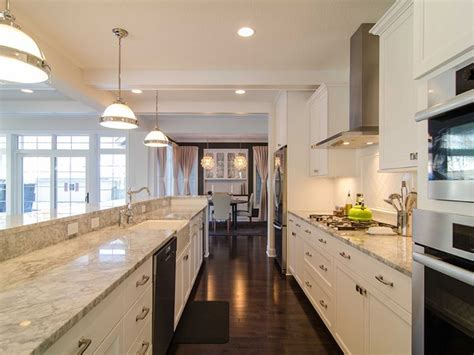 galley style kitchen design ideas galley kitchen decor around the