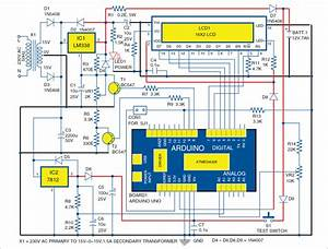 Battery Schematic Diagram : arduino controlled 12v automatic battery charger full ~ A.2002-acura-tl-radio.info Haus und Dekorationen