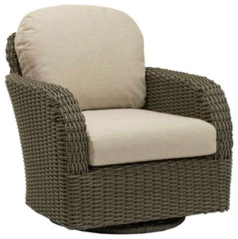 swivel club chair cushions contemporary outdoor
