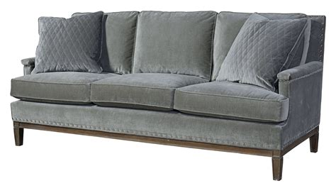 gray velvet sectional sofa prescott gray velvet sofa 530501 200 universal
