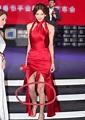 43歲林志玲高開衩紅裙出席活動,但這細節還是暴露了她真的老了 - 每日頭條