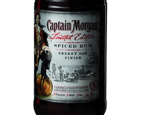 Review Captain Morgan Limited Edition Sherry Oak Finish