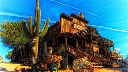 West Wild Backgrounds Western Saloon Desktop Wallpapers