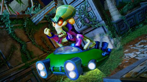 crash team racing nitro fueled    customize